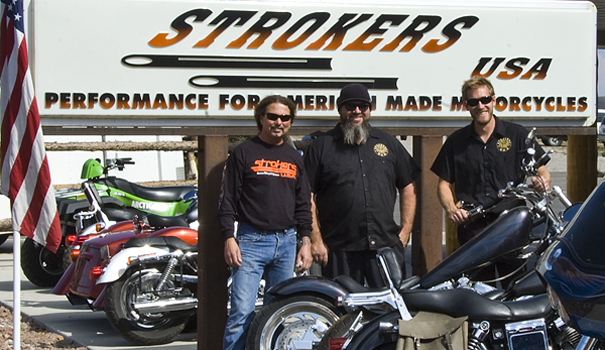 Strokers USA Motorcycle Service, Repair and Accessories in Lander, WY