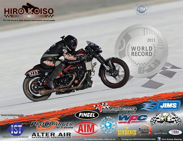 Strokers USA is a proud sponsor of Hiro Koiso Racing
